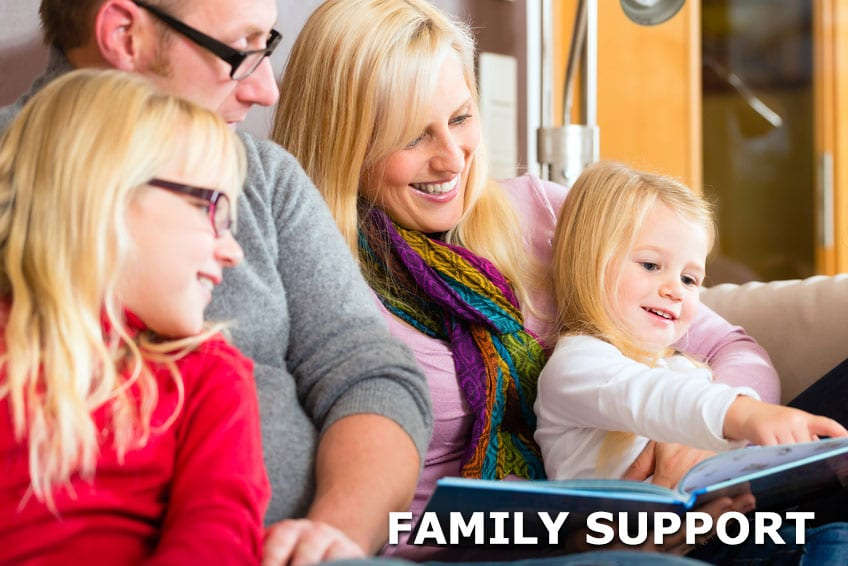 Step by Step Psychology: Family Support